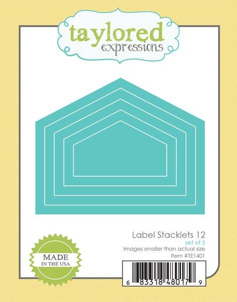 Die Label Stacklets 12