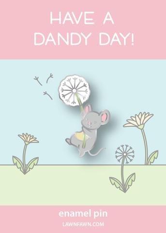 Enamel Pin Dandy Mouse