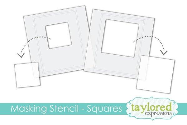 6x6 Masking Stencil-Squares