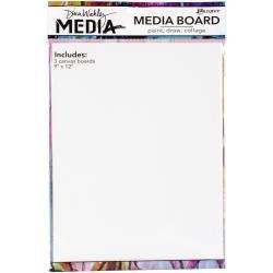 Dina Wakley Media Board 9X12 3 Panels