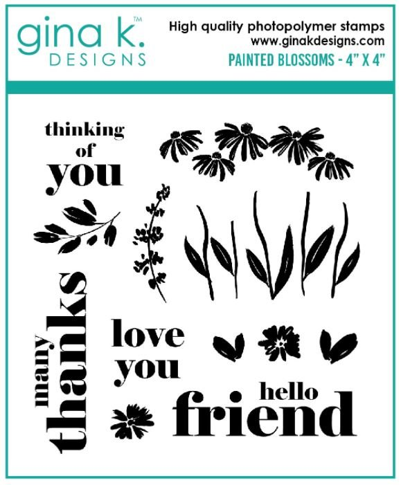 New! Painted Blossoms Stamp Set