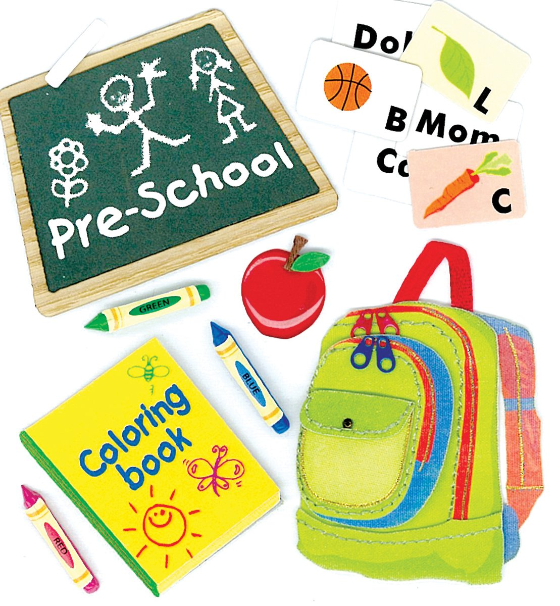 Jolee's Boutique Dimensional Stickers - Preschool