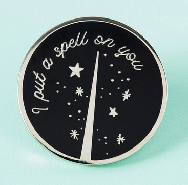 Punky Pins I Put A Spell On You Enamel Pin