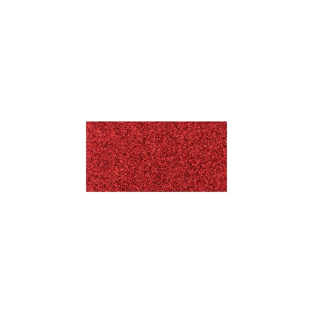 Non-Shed Glitter Cardstock 12X12 Red 1 sheet