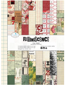 New! Elizabeth Crafts Double-Sided Paper Reminiscence The Book
