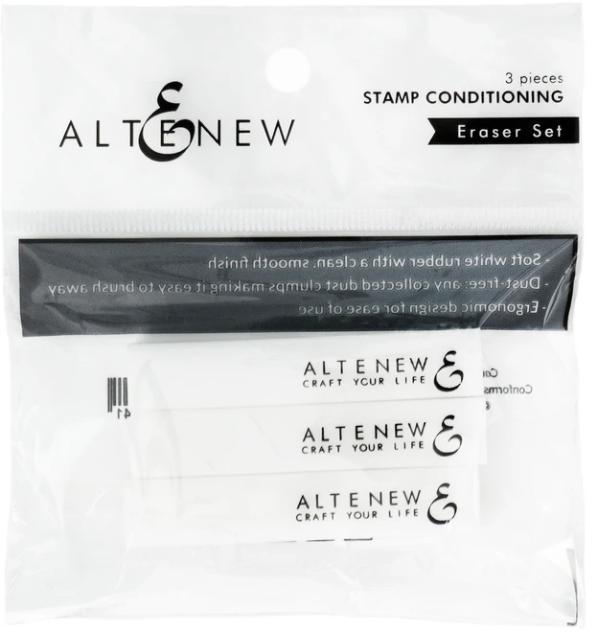 Stamp Conditioning Eraser Set (3 pcs)