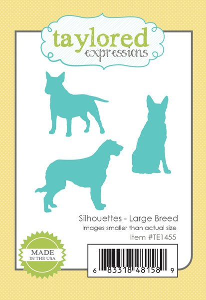 Silhouettes-Large Breed Dies