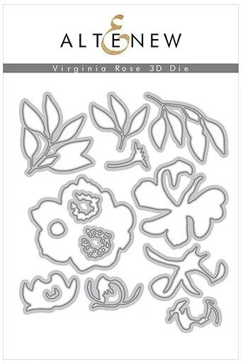 Virginia Rose 3D Die