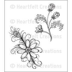 Heartfelt Daisy Flourish