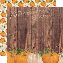 Autumn Splendor Double-Sided Cardstock 12X12-Harvest Memories