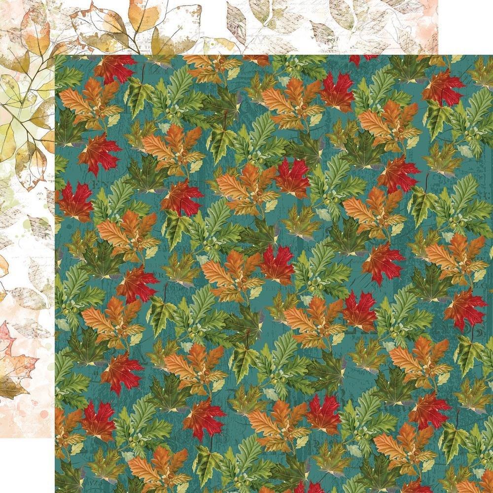 Autumn Splendor Double-Sided Cardstock 12X12-Autumn Leaves