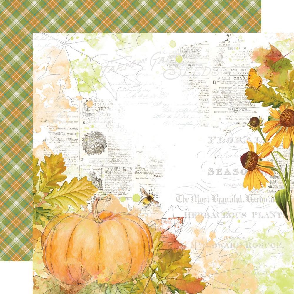 Autumn Splendor Double-Sided Cardstock 12X12-Fabulous Fall
