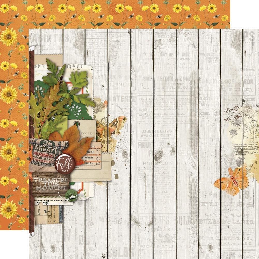 Autumn Splendor Double-Sided Cardstock 12X12-Fall Blessings