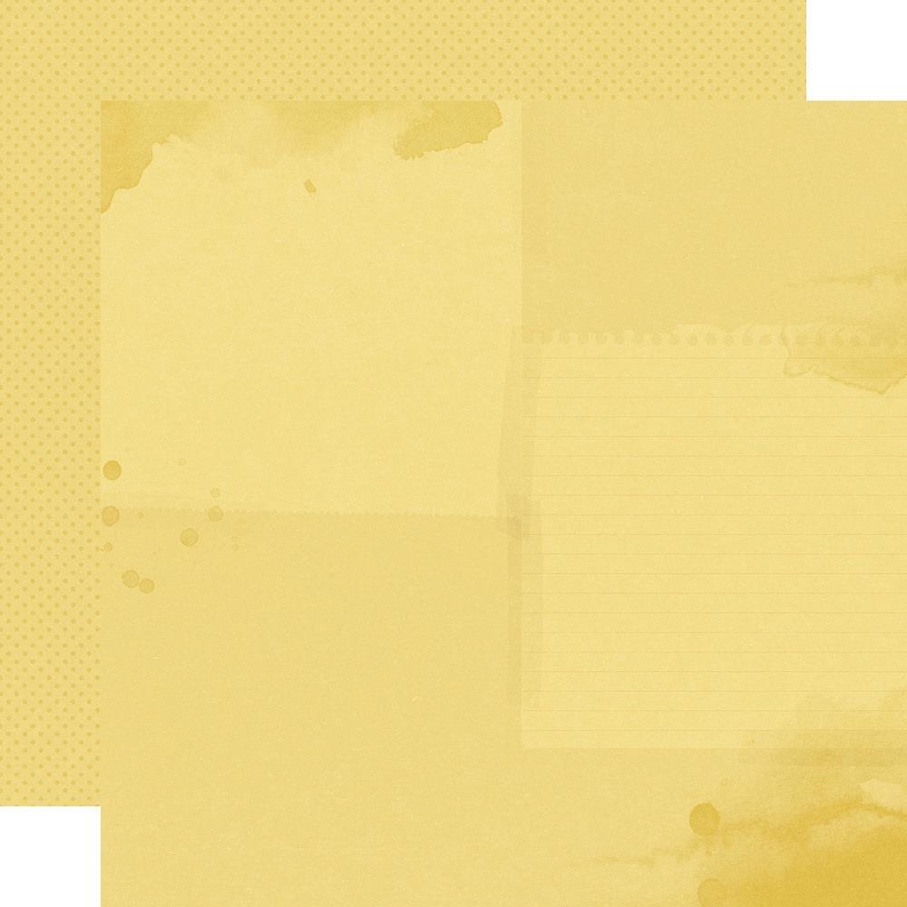 Autumn Splendor Double-Sided Cardstock 12X12-Marigold/Dots Simple Basic