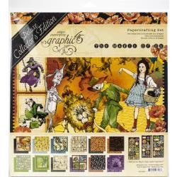 Graphic 45 Deluxe Collector's Edition Pack 12X12-Magic Of Oz