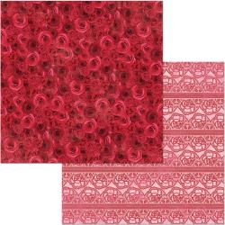 Count The Ways Double-Sided Cardstock 12X12-Red Roses