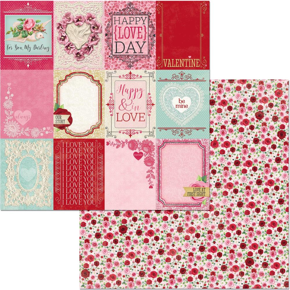 Count The Ways Double-Sided Cardstock 12X12-Be Mine