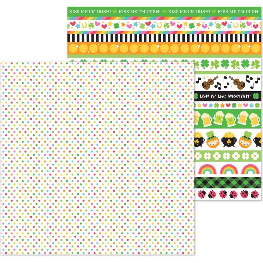 BONNIE LASS DOUBLE-SIDED CARDSTOCK 12X12