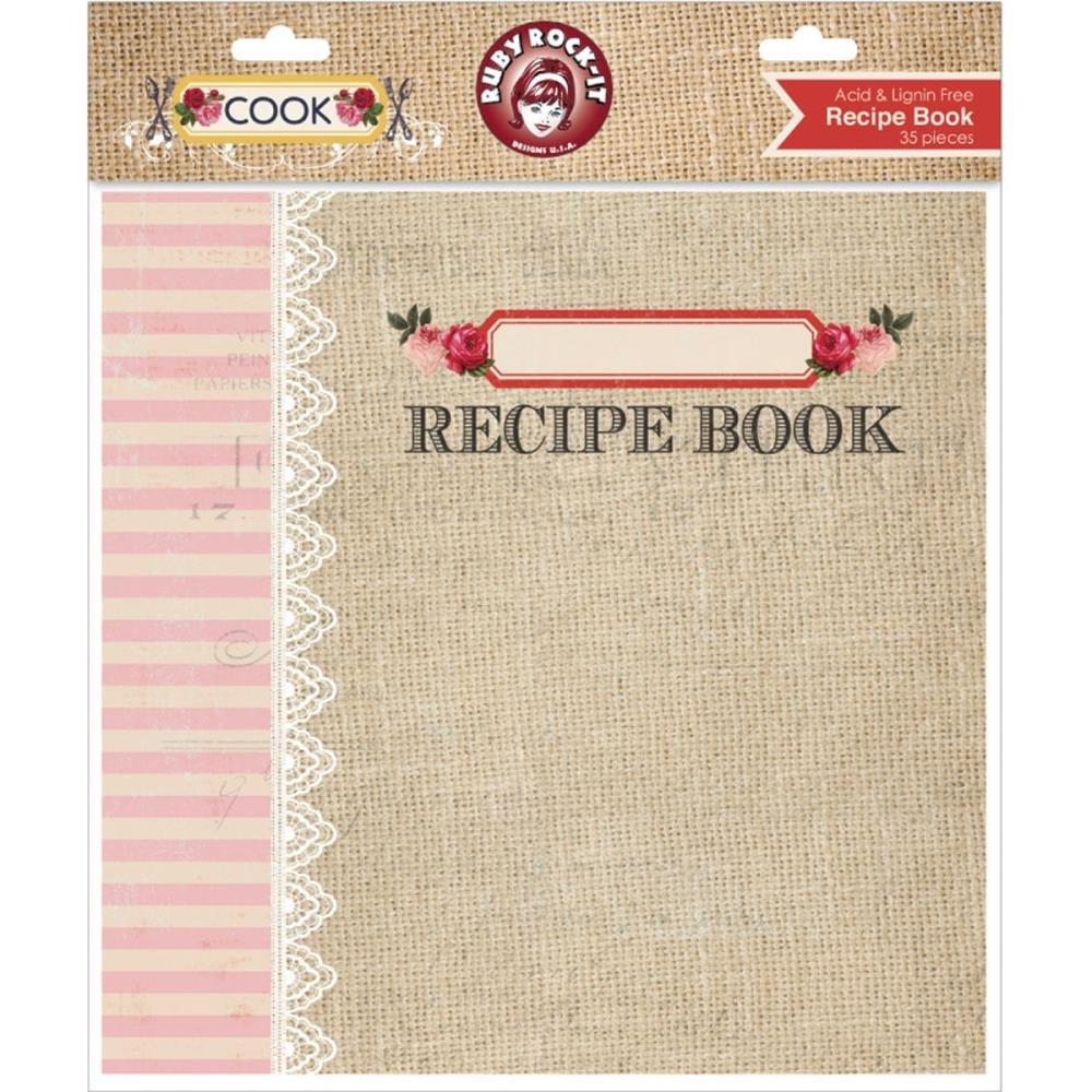COOK RECIPE BOOK ALBUM 8X8