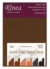 Rinea Artist's Pack Variety-Earth Tones
