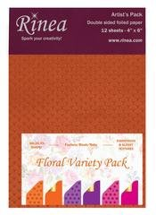 Rinea Artist's Pack Variety-Floral