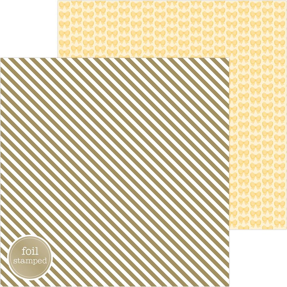 GOOD AS GOLD FOIL DOUBLE-SIDED CARDSTOCK 12X12