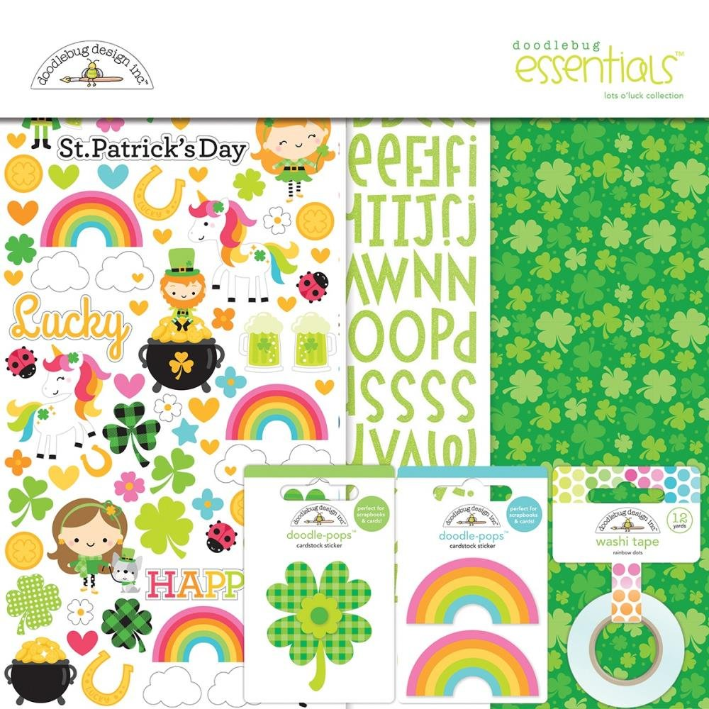 LOTS O' LUCK ESSENTIAL PAGE KIT