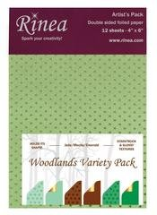 Rinea Artist's Pack Variety-Woodlands