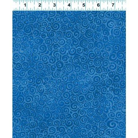 Basic Swirl Laurel Burch Blue