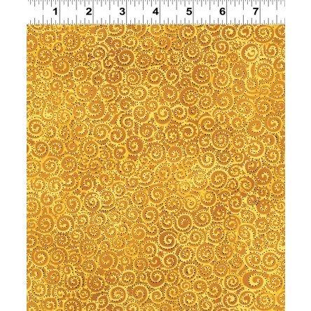 Basic Swirl Laurel Burch Gold
