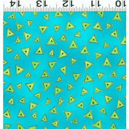 Basic Triangle Laurel Burch Turquoise