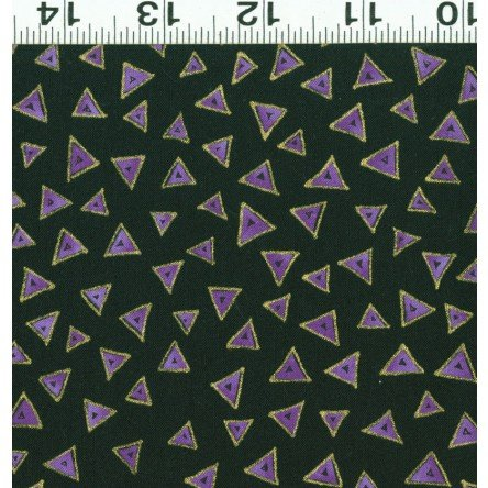Basic Triangle Laurel Burch Black