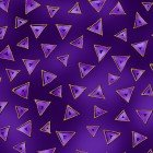 Dark Purple Triangle Metallic