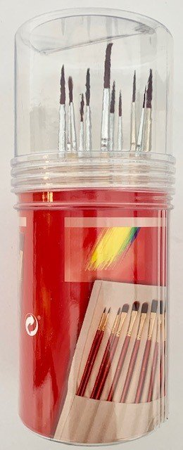 11PC DETAIL ARTIST BRUSH SET