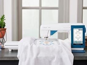 HUSQ-DESIGNERSAPP85 - DESIGNER SAPPHIRE 85 SEWING & EMBROIDERY MACHINE BY HUSQVARNA VIKING