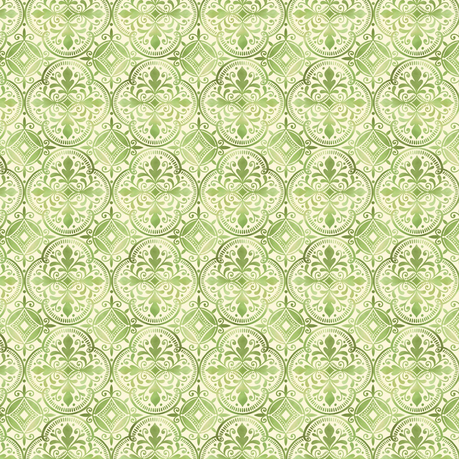 AMBR-4541 G - AMBROSIA BY NATALIE MILES TILES GREEN - ARRIVING IN NOVEMBER 2021