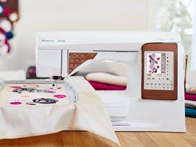 HUSQ-DESIGNERTOP50 - DESIGNER TOPAZ 50 SEWING & EMBROIDERY MACHINE BY HUSQVARNA VIKING