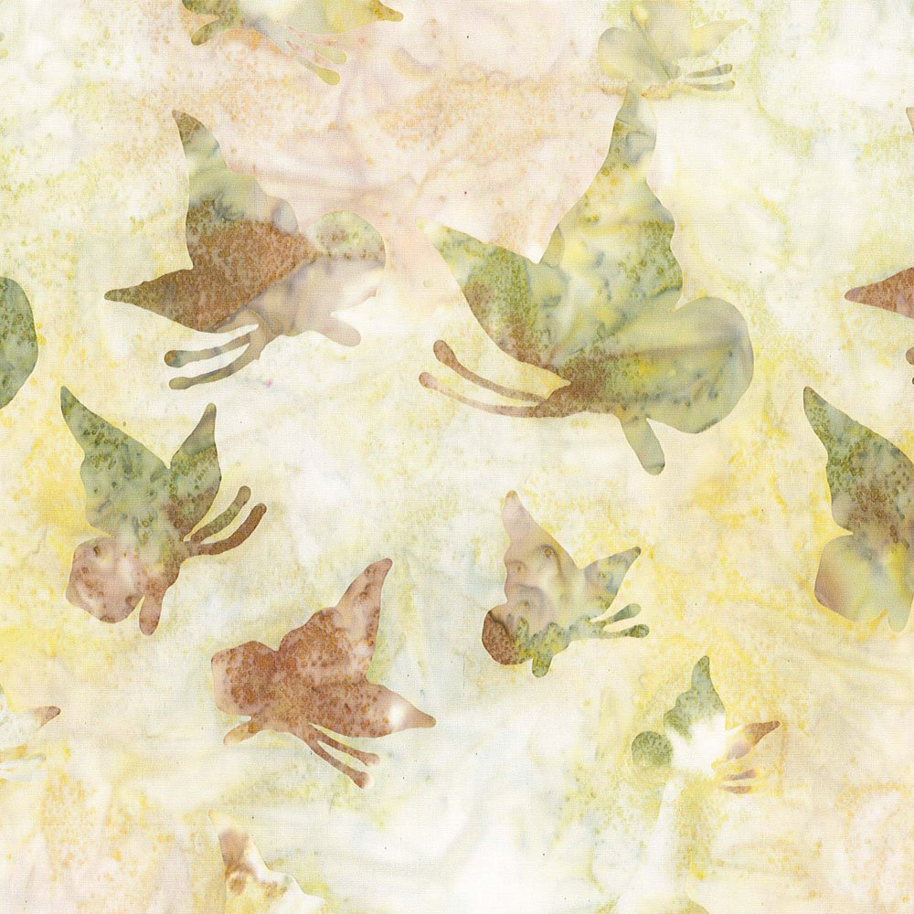 CABA-1039 230 - FLUTTERING BY SHANIA SUNGA BROWN GREEN YELLOW INSPIRATIONS