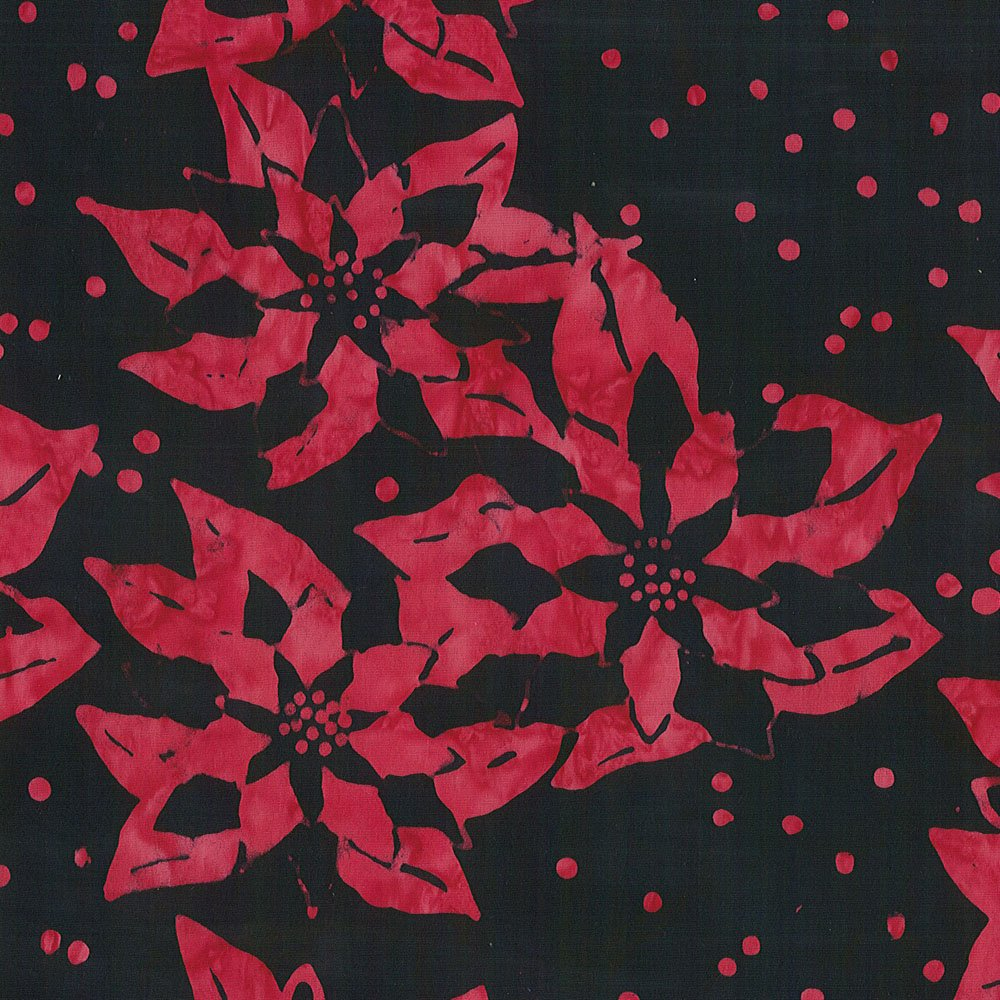 CABA-1051 998 - POINSETTIA BY SHANIA SUNGA RED BLACK