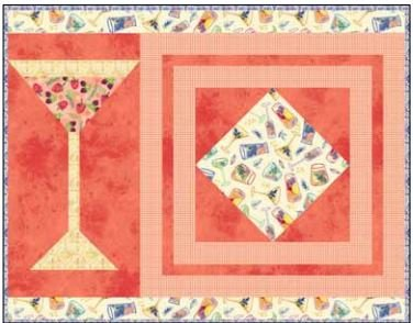 CSMD-KAMBR PM1 - AMBROSIA PLACEMATS#1 QUILT KIT 14 x 18 - ARRIVING IN NOVEMBER 2021