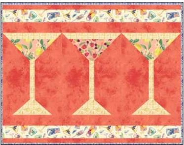 CSMD-KAMBR PM2 - AMBROSIA PLACEMATS#2 QUILT KIT 14 x 18 - ARRIVING IN NOVEMBER 2021