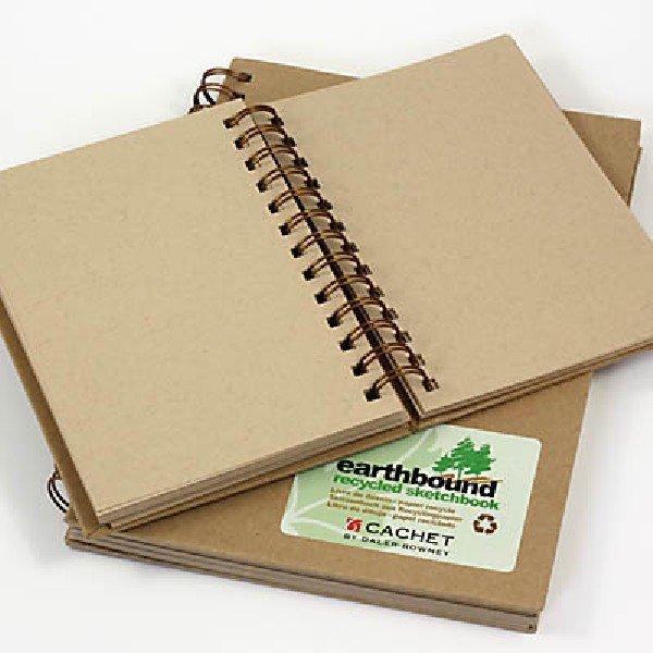 Earthbound Sketch Book, 9 x 12 - 80/Sht. 70 lb. - Wire-Bound