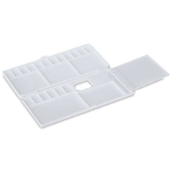 Fold up plastic pallette, 3 sections
