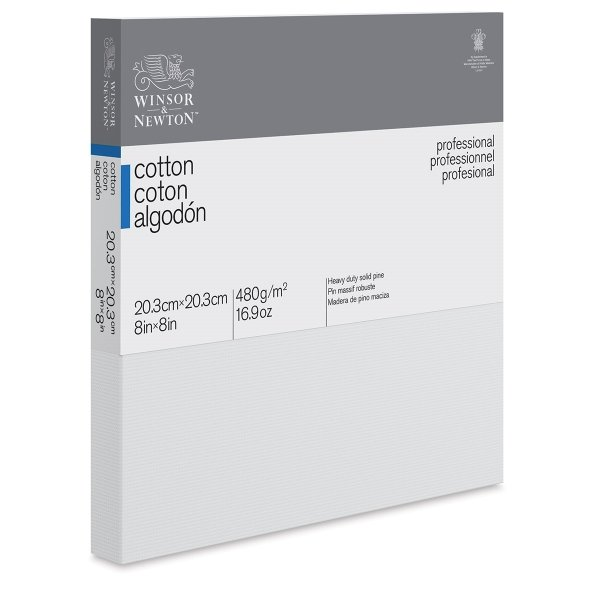 WINSOR & NEWTON DEEP EDGE COTTON STRETCHED CANVAS 1.37in