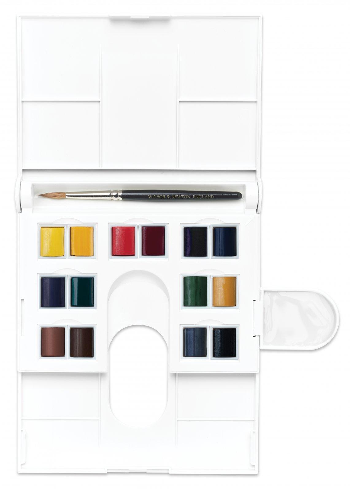 Professional Watercolour Compact Set - 14-Color