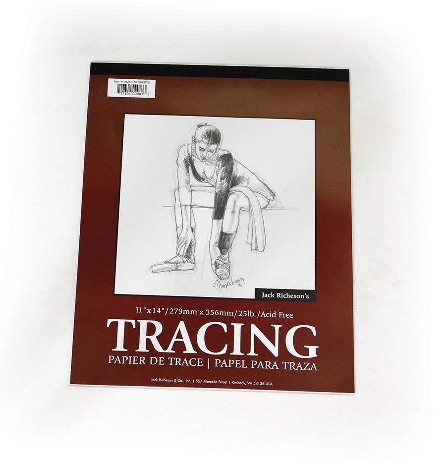 Tracing Pad, 50 Sheet