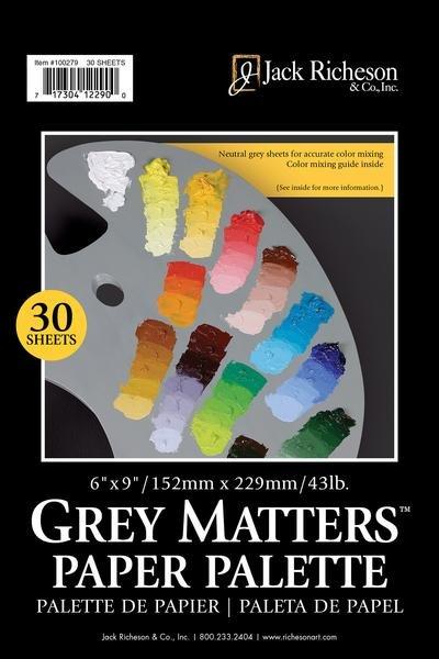 Grey Matters Paper Palette, 30 Sheets