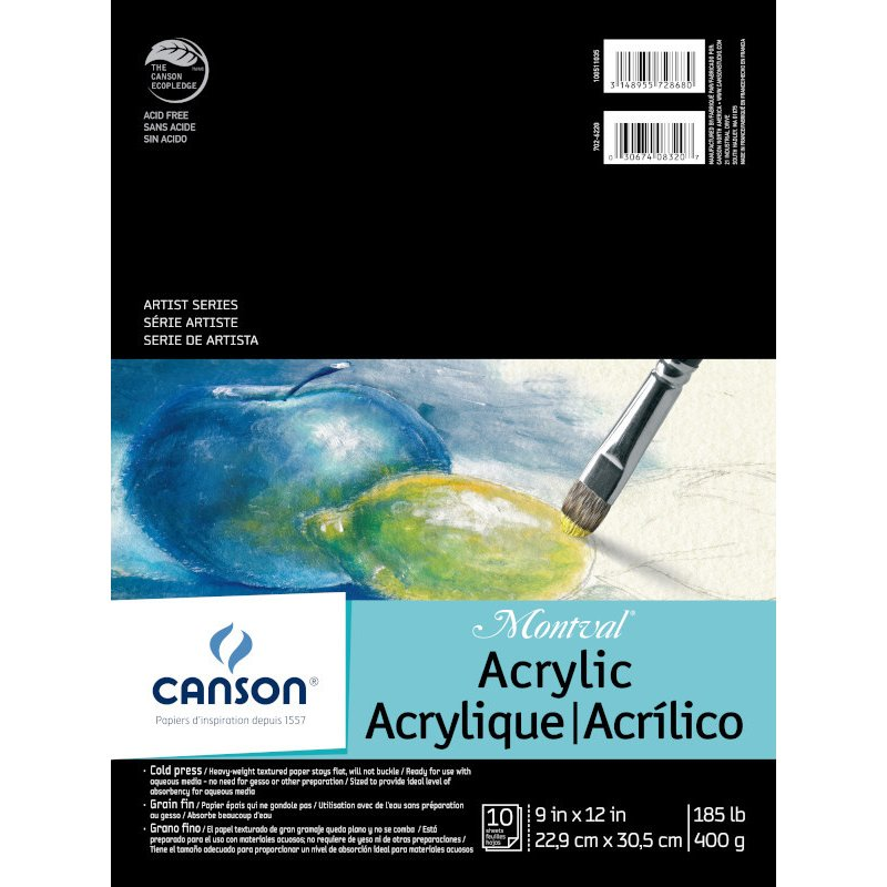 Montval Acrylic Paper Sheets