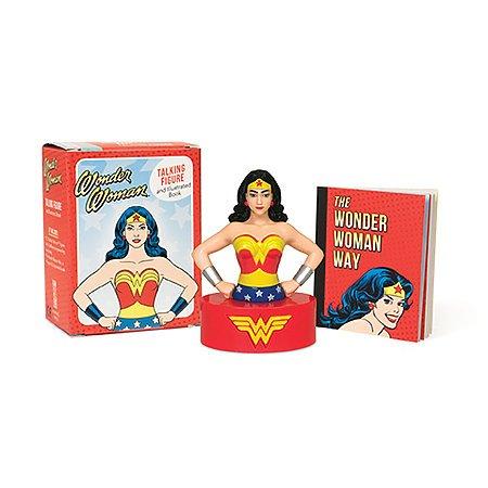 Wonder Woman Talking Figurine Mini Edition