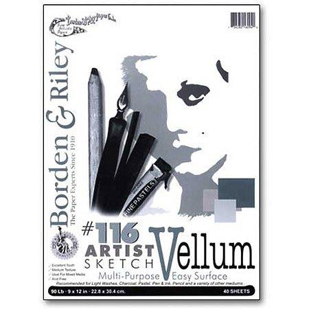Boden & Riley No. 116 Artist Drawing/Sketch Vellum